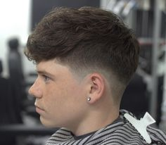 Ideas Haircut Short Bangs Edgy For 2019 Mens Medium Length Hairstyles, Haircuts For Wavy Hair, Curly Hair Men, Medium Hair Cuts, Short Hair Cuts, Medium Hair Styles, Curly Hair Styles, Trendy Mens Haircuts, Cool Haircuts