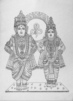 Drawing Faces with Graphite Pencils - Drawing On Demand Mysore Painting, Kerala Mural Painting, Tanjore Painting, Indian Art Paintings, Kalamkari Painting, Ganesha Painting, Ganesha Art, Krishna Art, Ganesha Drawing