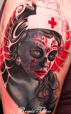 day of the dead tattoos 22