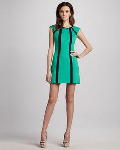 Underground Ponte Zip Dress by Nanette Lepore at Neiman Marcus.