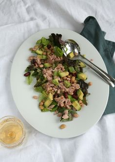 snelle gezonde lunchsalade