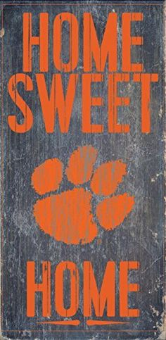 "Clemson Tigers Wood Sign - Home Sweet Home 6""x12"", http://www.amazon.com/dp/B00VIPKXYY/ref=cm_sw_r_pi_awdm_JqpswbXS99Y6G"