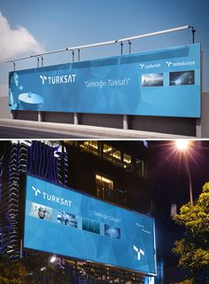 #Türksat  #outdoor #advertising  #design