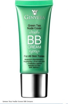 GINVERA Green Tea Nude Cover BB Cream SPF 30 25ml *** Want to know more, click on the image.