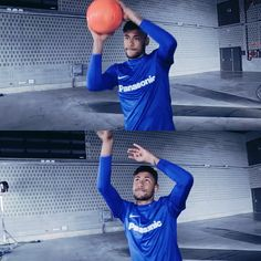 If he wouldn't be a footballer he'd probably be a basketball player Love You Babe, Good Soccer Players, World Cup 2014, Neymar Jr, Best Player, Forever Young, Sporty, Hero, Football