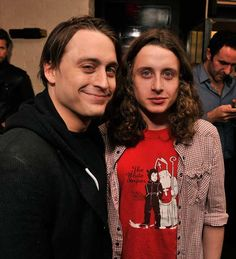Actors Kieran Culkin and Rory Culkin attend the after party for a special screening of 'Hick hosted by The Cinema Society and Phase 4 Films at Ken and Cook in New York City.