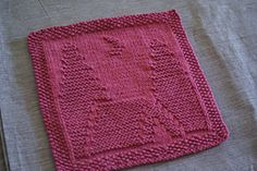 Ravelry: Camping Dishcloth pattern by Kelly Daniels