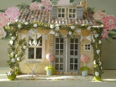 Shabby Chic Maisonette de Provence Custom by cinderellamoments, $450.00