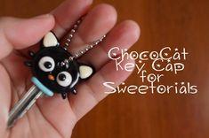 ChocoCat Key Cap: Polymer Clay Tutorial for Sweetorials