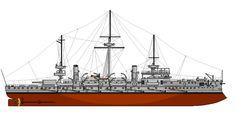 RHN PSARA  Hydra Class pre-dreadnought battleship