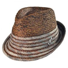 08781efc36c7ae Carlos Santana Pueblo Fedora Hat Straw Fedora, Straw Hats, Men's Hats,  Fedora Hats