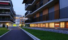 Elderly Housing Design in Europe Innovative Architecture, Residential Architecture, Tropic Of Capricorn, Aged Care, Best Architects, Elderly Home, Senior Living, Home Projects, Around The Worlds