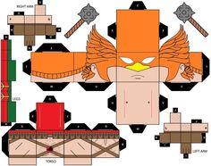 Cubeecraft DC Super HeroesHawkman by handita2006.deviantart.com on @DeviantArt