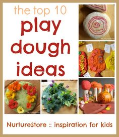 The top ten play dough recipe and play ideas