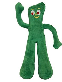 Multipet Gumby Plush Filled Dog Toy, 9-Inch ❤ Multipet International