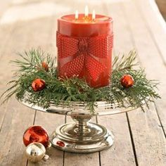 *Keeping the Christmas Spirit Alive, 365*: Decorating with Candles