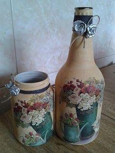 Resultado de imagem para reciclado de botellas de vidrio