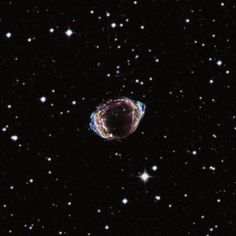 The Remarkable Remains of Supernova Remnant G1.9+0.3, about 28,000 ly from Earth near the center of the Milky Way. Chandra