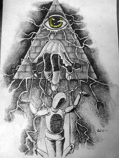 Illuminati puppet