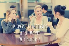Does a Christian really need to go to church? Is it merely to remind us of being a Christian? Christian Women, Big Picture, Christians, Mom, Pictures, Fashion, Moda, Photos, Photo Illustration