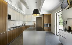 Charming Modern Kitchen Designer U Shaped Glass Counter Top / Kitchen Favorite Modern Kitchen Designer Appear Open And Bright