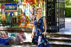 Shop around Jackson Square in the classic Doris Dress! New Orleans Music, Preservation Hall, Trashy Diva, Jackson Square, Beat Generation, Vintage Inspired Dresses, Gathered Skirt, New Print, Lady And Gentlemen