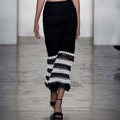 A statement #skirt will be the hero piece of your #wardrobe this season!  Shop online: http://n-duo-concept.com/clothing/fringed-macram%C3%A9-skirt.html#.Vx4UKvl96Hs
