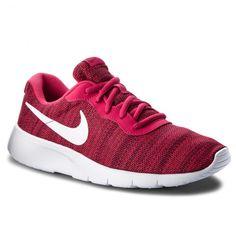 Pantofi NIKE Tanjun (GS) 818384 603 Rush Pink/White/Red Crush Nike Tanjun, Furla, Nike Free, Pink White, Tommy Hilfiger, Crushes, Calvin Klein, Sneakers Nike, Red