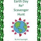Earth Day Re3 Scavenger Hunt  This scavenger hunt teaches about Earth Day and the importance of reducing, recycling, and reusing to care for our pla...