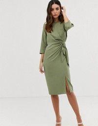 24+ Asos midi wrap dress with tie detail ideas in 2021