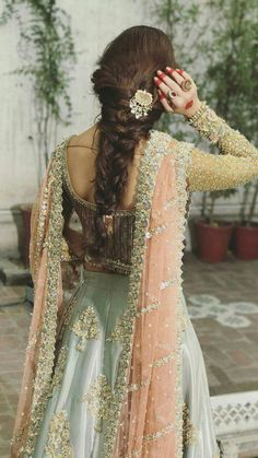 indian fashion -- Click visit link above to see Pakistani Wedding Outfits, Indian Bridal Outfits, Pakistani Wedding Dresses, Pakistani Dress Design, Indian Designer Outfits, Designer Dresses, Pakistani Bridal Wear, Bridal Suits Punjabi, Pakistani Lehenga