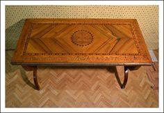 Tavolino salotto lombardo Antiquariato su Arsantik