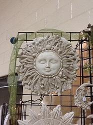CORAL SUN $49.00 - HOME DECOR & GARDEN DECOR
