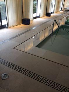Swimming pool hotel du metropole Monaco by Karl Lagerfeld