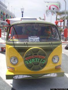 Long Beach Comic Expo 2012 - TMNT VW bus