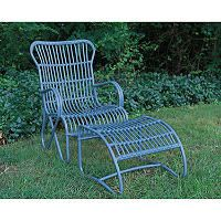 2 Piece Palmetto Chair - Blue - Sam's Club