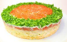 Новогодний салат Императрица