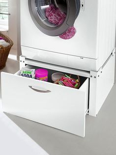 waschamschine und trockner aufeinander stellen und im bad. Black Bedroom Furniture Sets. Home Design Ideas