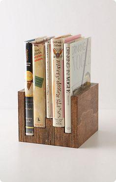 Make It: Anthropologie-Inspired Wooden Book Holder