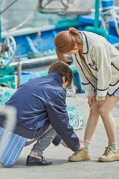 So cuteee Bong-Min Korean Drama Movies, Korean Actors, Strong Girls, Strong Women, Strong Woman Do Bong Soon Wallpaper, Park Hyung Shik, Park Bo Young, Weightlifting Fairy Kim Bok Joo, Vkook