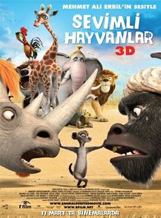 Sevimli Hayvanlar - Animals United - 2010 - BRRip Film Afis Movie Poster