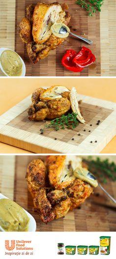 PUI LA CUPTOR Chicken Wings, Meat, Food, Eten, Meals, Diet
