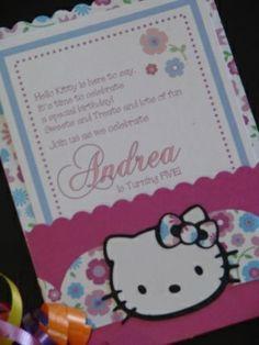 invitacion kitty