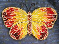 Butterfly 1 - wall hanging by stiglice - Judit, via Flickr