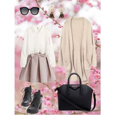 A fashion look from March 2015 featuring embroidered shirts, tassel kimono and pink skirt. Browse and shop related looks. Givenchy, Fashion Looks, Skirts, Polyvore, Pink, Shopping, Rose, Hot Pink, Skirt
