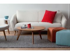 Structube - Living room : Accent tables : Osaka (White)