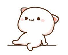 Cute Love Pictures, Cute Love Gif, Cute Cat Gif, Gif Lindos, Memes Lindos, Cute Bear Drawings, Cute Kawaii Drawings, Cute Cartoon Pictures, Cute Love Cartoons