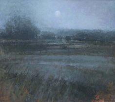 Judith Gardner - Flooded Fields in Mist