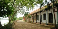 """Nothing more peaceful than walking by the Magdalena River in """"La Albarrada"""", in Mompox. Colombia South America, Native Country, Colombia Travel, Country Landscaping, Plein Air, Facade, Places To Visit, City, World"""