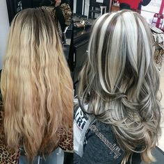 B L O N D I E S S A L O N @blondies209 Chunky Hilights &...Instagram photo | Websta (Webstagram)